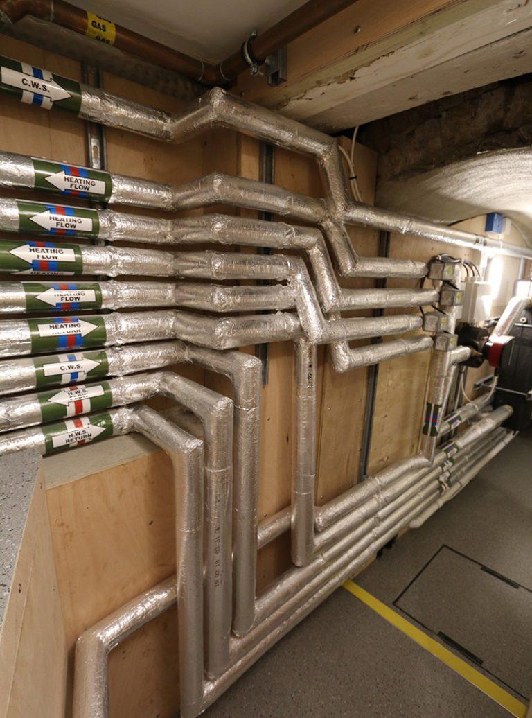 Mechanical And Electrical | M&E | Plumbing | Plant Room | Architect | Building Contractor | Design and Build | Construction | Interior Design | Building | Refurbishment | Cambridge | London | Suffolk | Essex | Saffron Walden | Hertfordshire | The Daniels Group