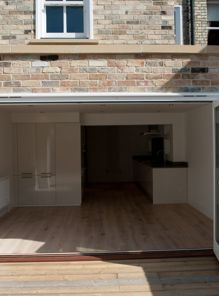 Garden Design | Teak Cladding | Bi-Folding Doors | Luxury Kitchen | Architect | Building Contractor | Design and Build | Construction | Interior Design | Building | Refurbishment | Cambridge | London | Suffolk | Essex | Saffron Walden | Hertfordshire | The Daniels Group