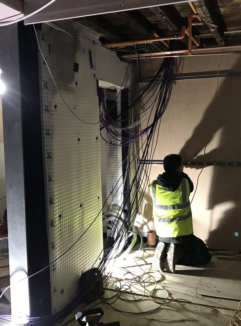 Complete Refurbishment | Experienced Build Team | Data cabling | Smart Home Control 4 | Architect | Building Contractor | Design and Build | Construction | Interior Design | Building | Refurbishment | Cambridge | London | Suffolk | Essex | Saffron Walden | Hertfordshire | The Daniels Group